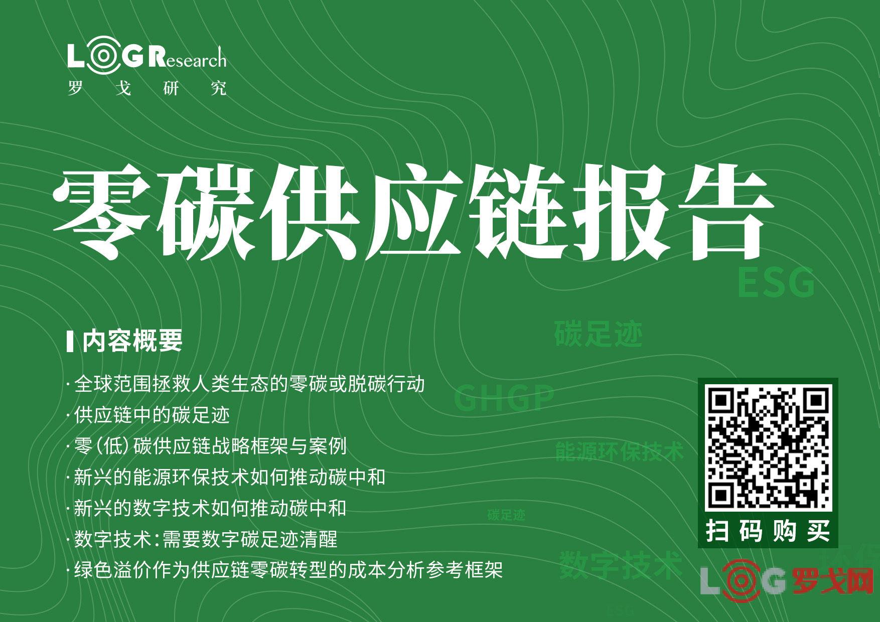 罗戈研究独家出品   行业首份《供应链零碳转型综合研究报告》来了!