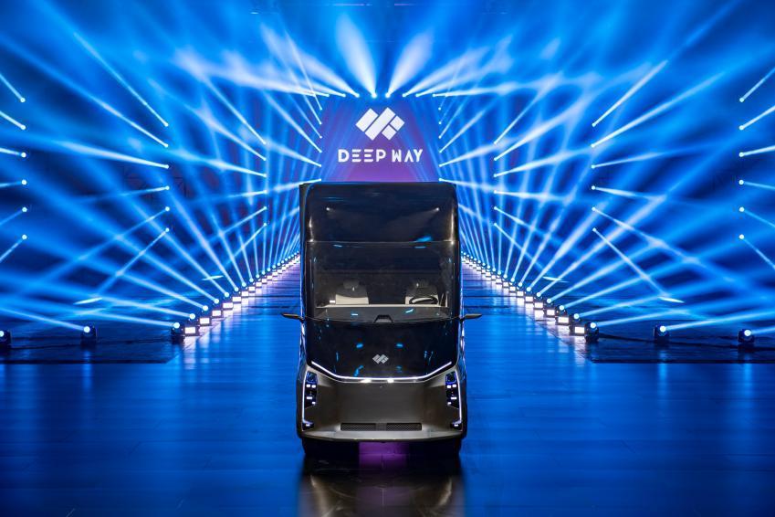 百度、狮桥联合赋能DeepWay,智能新能源卡车造车新势力应势而生